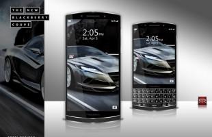 Bản thiết kế BlackBerry đẹp mắt và sang trọng