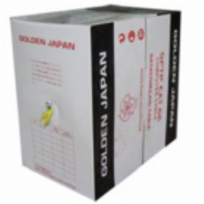 Cáp mạng Golden Japan UTP Cat6e, CAP MANG GOLDEN JAPAN UTP CAT6E 8/0.57MM, BÁN CÁP MẠNG GOLDEN JAPAN, CÁP MẠNG