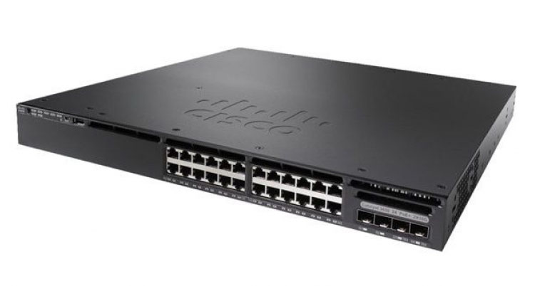Cisco WS-C3650-24TS-E, Cisco WS-C3650-24TS-E, 24 Port Data 4x1G Uplink IP services