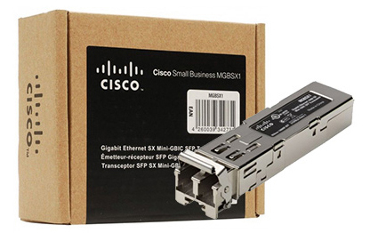 MGBSX1, MGBSX1 - Module Cisco MGBSX1 Gigabit Ethernet SX Mini-GBIC SFP Transceiver