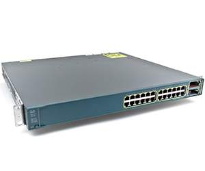 Cisco Switch WS-C3560E-24PD-S