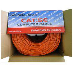 Cáp mạng Golden Japan UTP Cat5e 0.35m