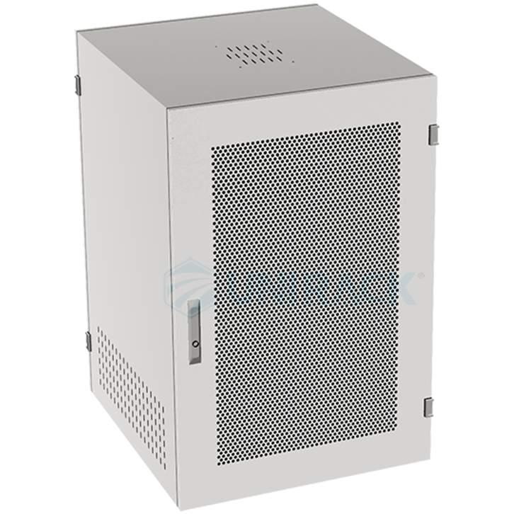 tủ rack, tủ mạng 15u sâu 600 màu trắng
