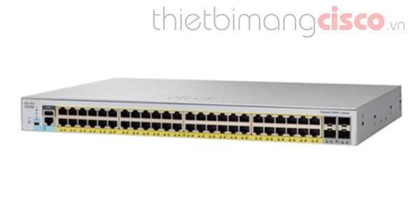 Switch cisco WS-C2960L-48TS-AP Catalyst 2960L 48 port GigE, 4 x 1G SFP, LAN Lite