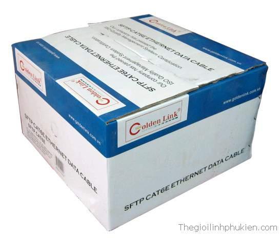 Golden Link SFTP CAT6, Dây cáp mạng Golden Link SFTP CAT6 chống nhiễu
