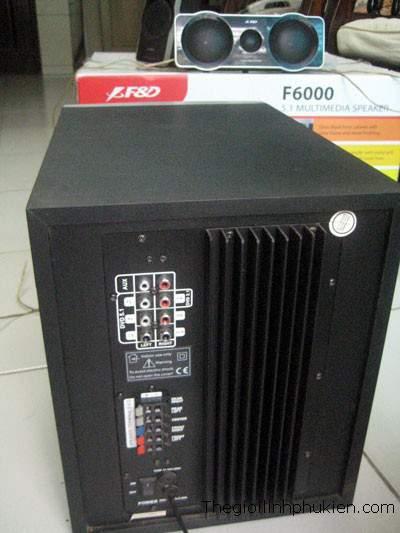 Fenda F6000 - 5.1, Fenda F6000 loa 5.1, Loa Fenda F6000 - 5.1