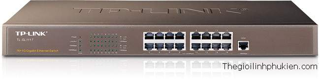 TP-Link  Switch TL-SL1117, TP-Link Gigabit-Uplink Switch TL-SL1117, TP-Link Unmanaged Gigabit-Uplink Switch TL-SL1117