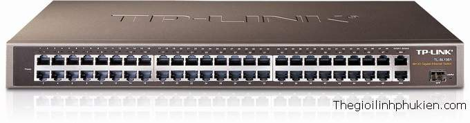 TP-Link  Gigabit-Uplink Switch TL-SL1351, TP-Link TL-SL1351, Switch TP-Link 48port giga TL-SL1351