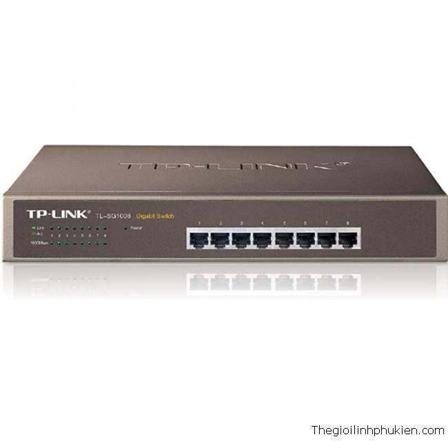 TP-Link gigabit switch TL-SG1008, Switch giga TL-SG1008, TP-Link Pure-Gigabit Switch TL-SG1008D