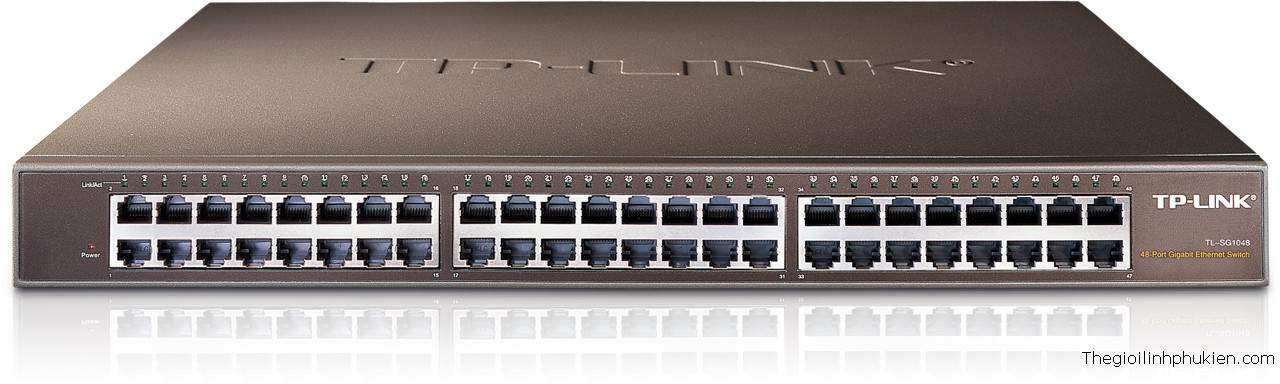 TP-LINK PURE-GIGABIT SWITCH TL-SG1048, TP-LINK GIGABIT TL-SG1048, SWITCH TL-SG1048