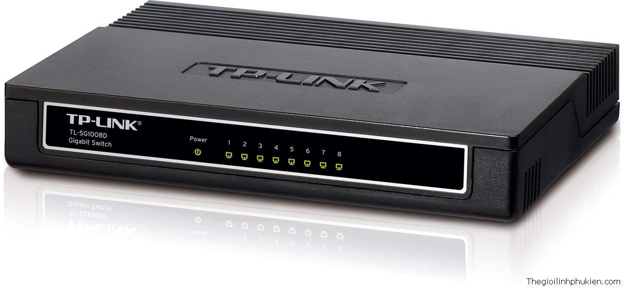 TP-Link TL-SG1008D, TP-Link Gigabit Switch TL-SG1008D, TP-Link Pure-Gigabit Switch TL-SG1008D