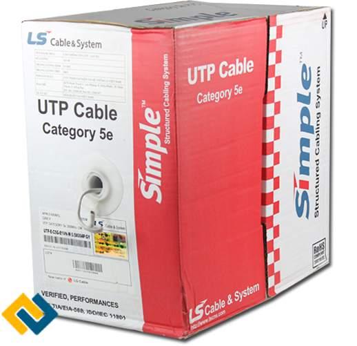 Dây cáp mạng LS UTP Cat5e chính hãng