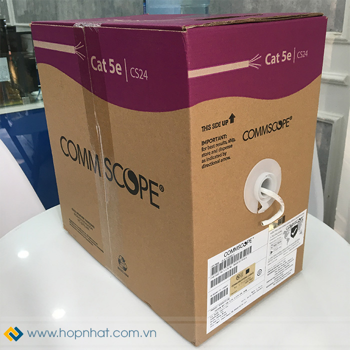 cáp mạng Cat5e Commscope AMP