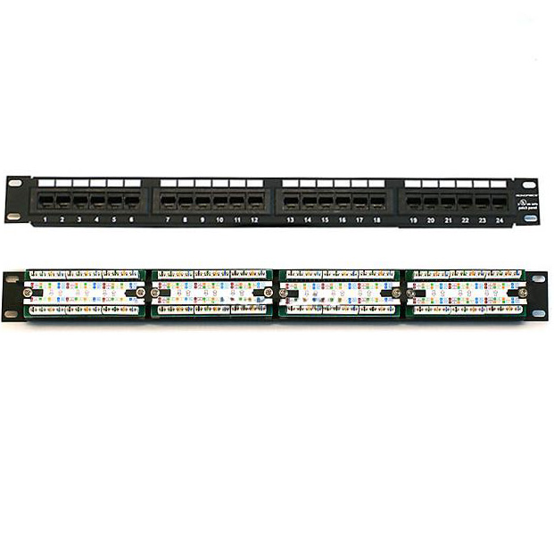 PATCH PANEL 48 PORT, PATCH PANEL 48 PORT - CAT5, PATCH PANEL 48 PORT DÙNG CHO CAT5