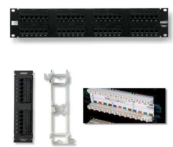 PATCH PANEL 48 PORT, PATCH PANEL 48 PORT CAT6, PATCH PANEL 48 PORT DÙNG CHO CAT6