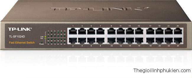 Switch 24 port TP-Link TL-SF1024, Giá Switch TP-Link 24 port TL-SF1024